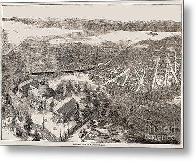 Washington, D.c., 1861 Metal Print by Granger