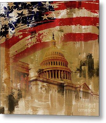Washington Dc Metal Print by Gull G