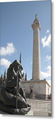 Washington Monument In Baltimore Metal Print