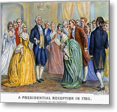 Washington Reception, 1789 Metal Print by Granger