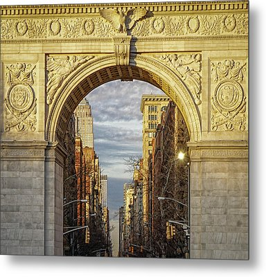 Washington Square Golden Arch Metal Print