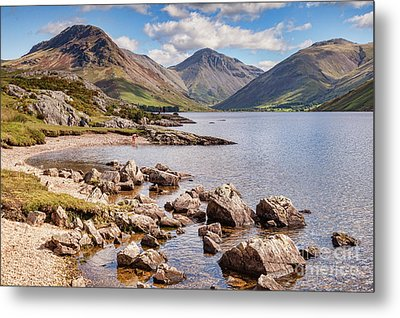 Metal Print featuring the photograph Wastwater  by Colin and Linda McKie