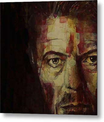 Watch That Man Bowie Metal Print