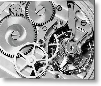 Watch Works Metal Print