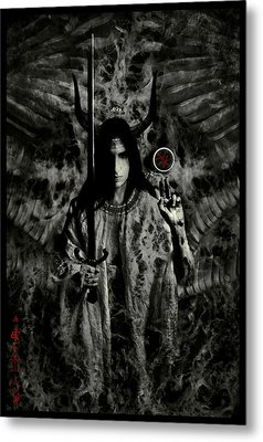 Watcher Metal Print by Cambion Art