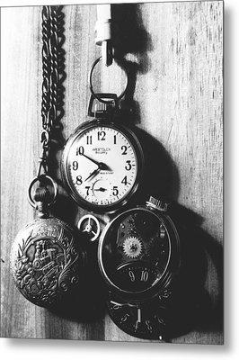 Metal Print featuring the photograph Watches by Don Youngclaus