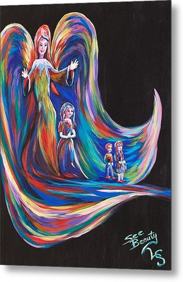 Watching Over All Of You Metal Print by Lynne Sanchez