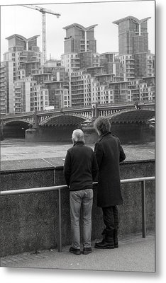 Watching The World Change Metal Print by Jez C Self