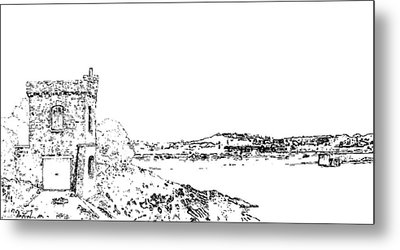 Watchtower Bay. Barry Metal Print