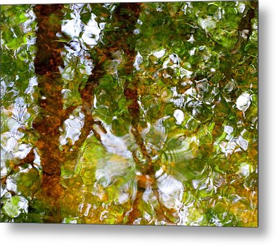 Water Abstract 17 Metal Print by Joanne Baldaia - Printscapes