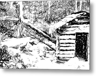 Water Cabin  Metal Print