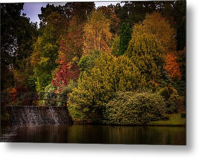 Metal Print featuring the photograph Water Cascade by Ryan Photography