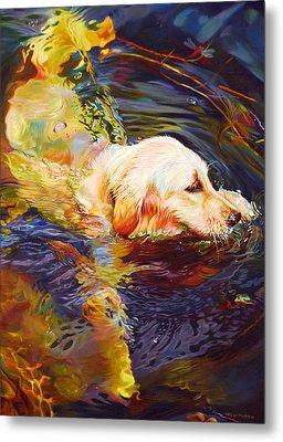 Water Dance 2 Metal Print by Kelly McNeil
