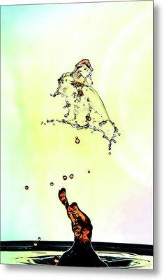 Water Drop #10 Metal Print