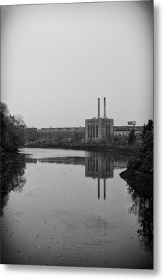 Metal Print featuring the photograph Water Factory by Lora Lee Chapman
