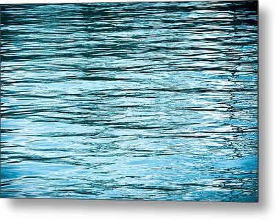 Water Flow Metal Print by Steve Gadomski