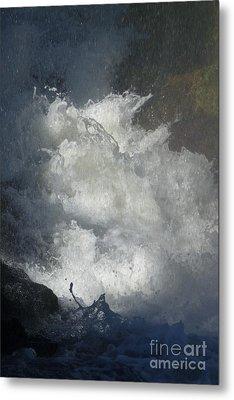 Water Fury 3 Metal Print by Jean Bernard Roussilhe