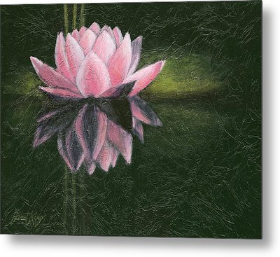 Water Lily Metal Print by Janet King