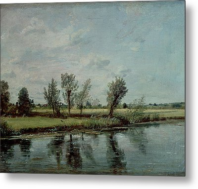 Water Meadows Near Salisbury Metal Print by John Constable