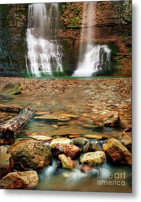 Water Path Metal Print by Tamyra Ayles