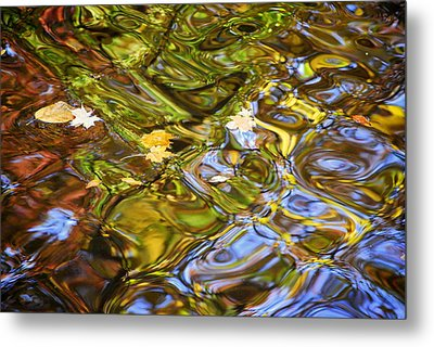 Water Prism Metal Print by Frozen in Time Fine Art Photography