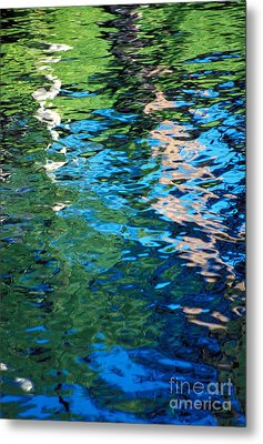 Water Reflections Metal Print by Bill Brennan - Printscapes