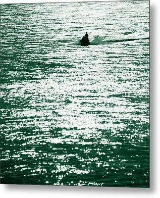 Water Rider Metal Print