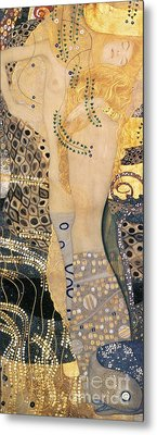 Water Serpents I Metal Print by Gustav klimt