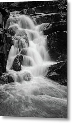 water stair close to the Heinrich Heine hiking way, Harz Metal Print by Andreas Levi