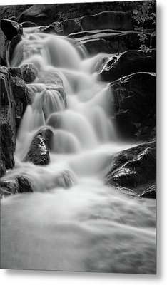 water stair in Ilsetal, Harz Metal Print by Andreas Levi