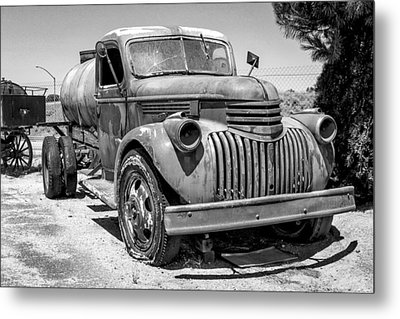 Water Truck - Chevrolet Metal Print