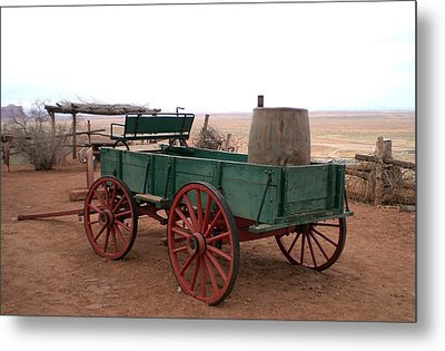 Water Wagon Metal Print by Fred Wilson