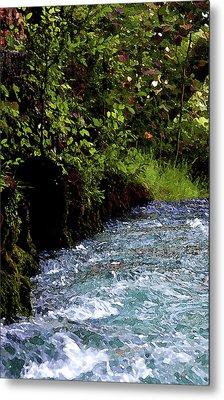 Watercolor Big Springs Missouri 2125 W_2 Metal Print