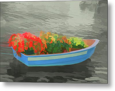 Metal Print featuring the photograph Watercolor Boat Parade by Aimee L Maher Photography and Art Visit ALMGallerydotcom