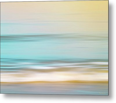Watercolor Metal Print by Wim Lanclus