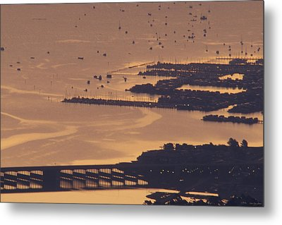 Watercraft Parking Lot Metal Print by Soli Deo Gloria Wilderness And Wildlife Photography