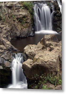 Waterfall 54 Metal Print by Marty Koch