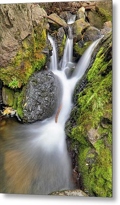 Waterfall Atop Wolf Creek Pass - Colorado - Nature Metal Print by Jason Politte