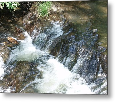 Waterfall Cresendo Metal Print