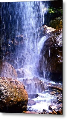 Metal Print featuring the photograph Waterfall In Tennessee by Lori Miller