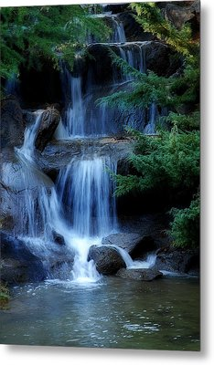 Waterfall Metal Print by Marion McCristall