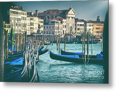 Waterfront Metal Print by Alessandro Giorgi Art Photography