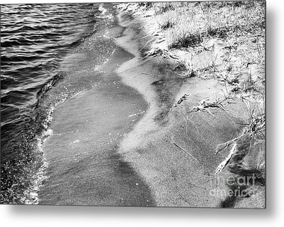 Water's Edge Metal Print by Jeff Holbrook