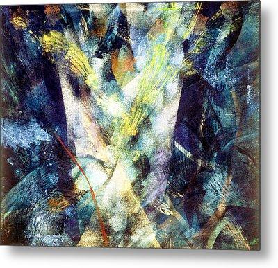 Waterspout Metal Print by Sue Reed