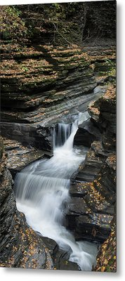 Metal Print featuring the photograph Watkins Glen Rapids by Joshua House