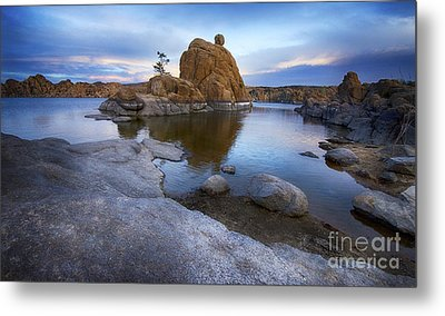 Watson Lake Arizona 14 Metal Print by Bob Christopher