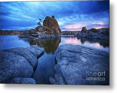 Watson Lake Arizona 4 Metal Print by Bob Christopher