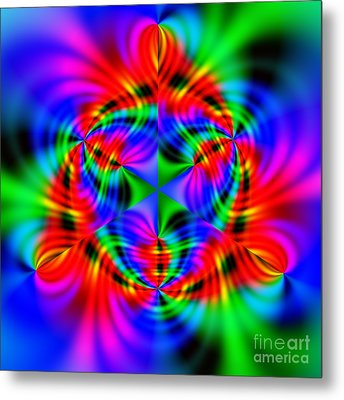 Wave 010a Metal Print by Rolf Bertram