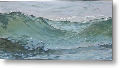 Wave 74 Metal Print by Christopher Reid