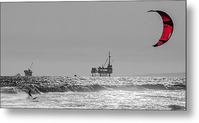 Wave And Wind Energy Are More Fun Metal Print by Scott Campbell